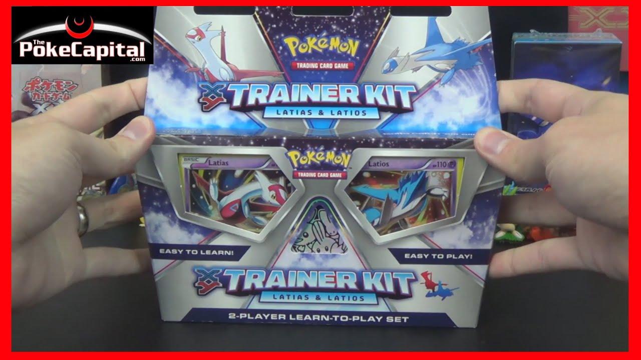 Pokemon Cards Xy Trainer Kit Latias Amp Latios Learn To Play Youtube