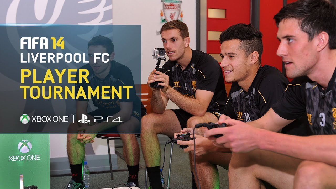 FIFA 14 - Liverpool FC Player Tournament - Coutinho, Henderson, Allen, Kelly