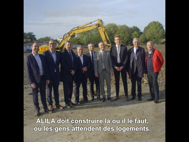 ALILA - Première pierre d'HALL'YS à Halluin (59) - Herve LEGROS – PDG d'ALILA (2/2)