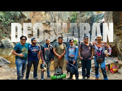 Camping in the Bear Jungle of Odisha | Deojharan Waterfall | Sambalpur Forest Division
