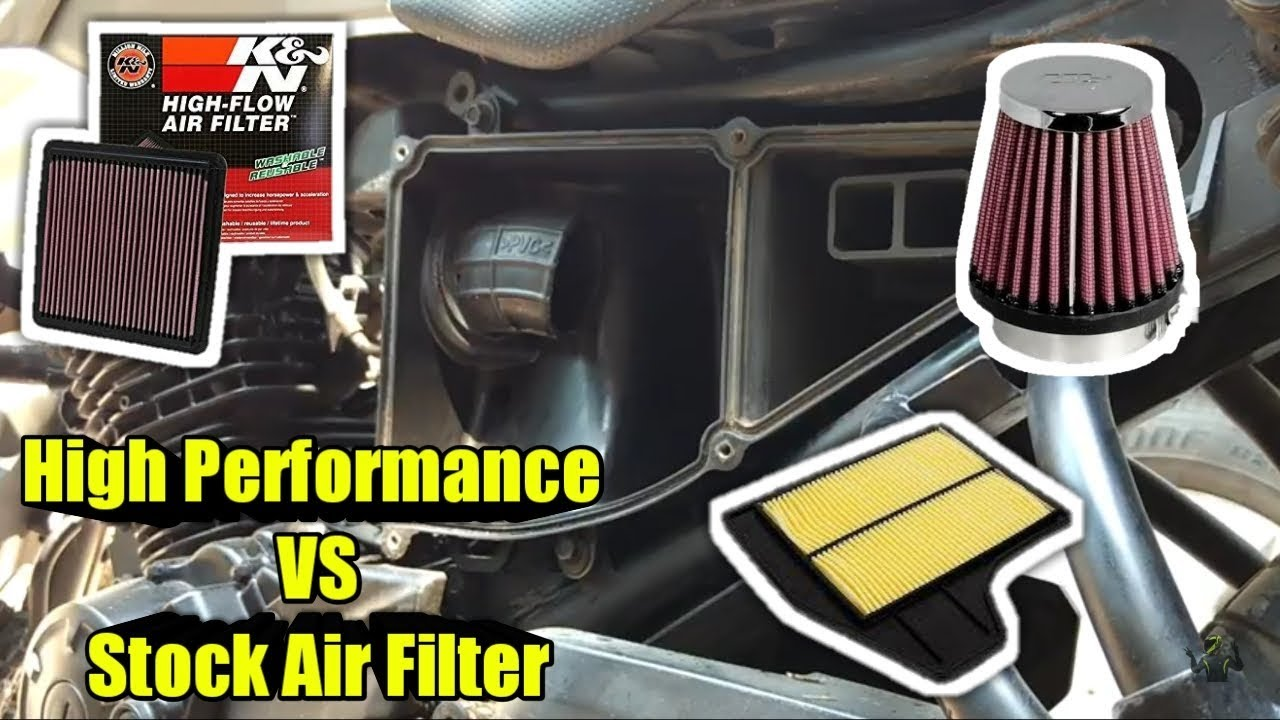 How to get K&N Air Filter like sound without reducing mileage | Bike  Maintenance at Home DIY
