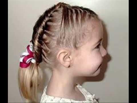 Peinados Para Ni 241 As Como Hacer Faciles Y Simples Regogidos