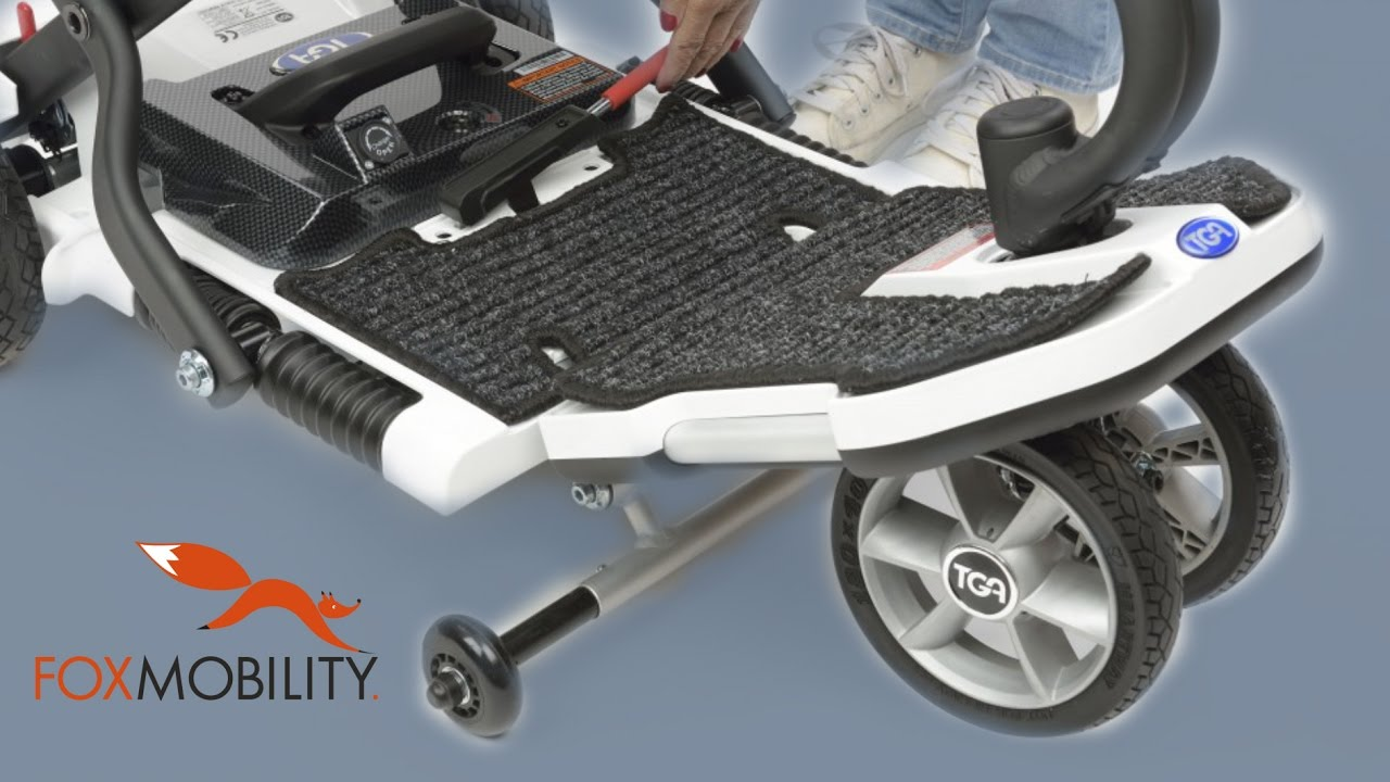 Tga Minimo The Small Portable Folding  U0026 39 Suitcase U0026 39  Mobility Scooter- Let U0026 39 S Have A Look