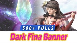 [FFBE] 500+ Pulls for Dark Fina, Luka, Elle - Brave Exvius Banner Summon