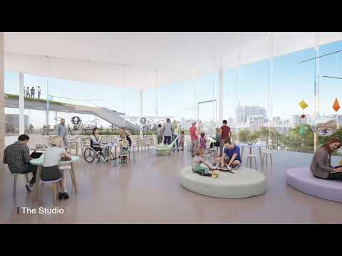 Art Gallery NSW: Fly-through of SANAA's Sydney Modern Project