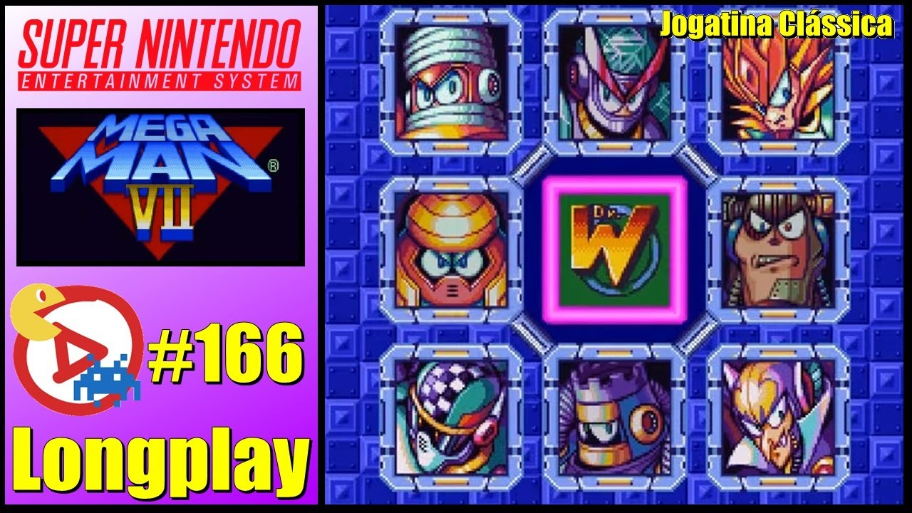SNES Longplay Mega Man 7