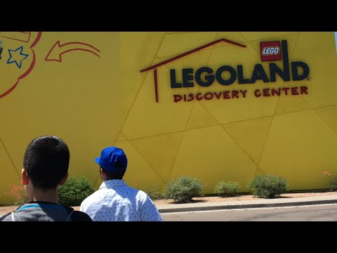 Our LegoLand Discovery Center Day!