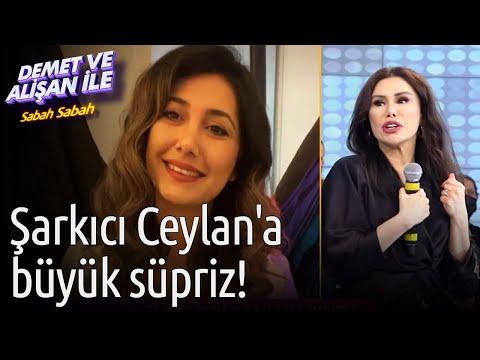 Demet ve Alişan ile Sabah Sabah | Şarkıcı Ceylan'a Büyük Süpriz!