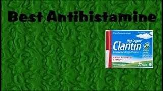 Best Antihistamine for Seasonal Allergies
