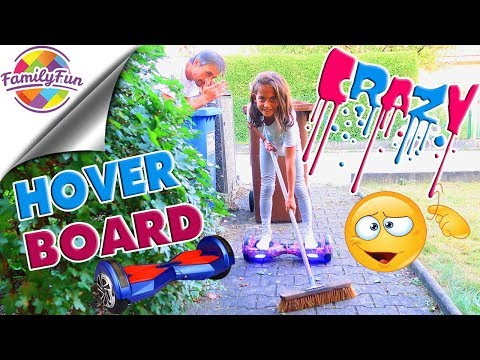 MILEYS VERRÜCKTE HOVERBOARD Aktion - Family Fun