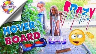 MILEYS VERRÜCKTE HOVERBOARD Aktion - Family Fun