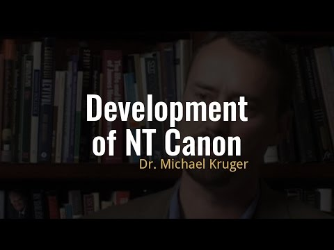How did the New Testament canon develop?