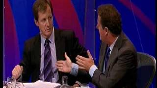 Question Time Alistair Campbell and Piers Morgan argue about the  Iraq  War and WMD.AVI