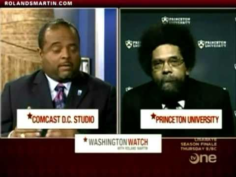 Washington Watch Exclusive: Roland Martin's Full Interview With Dr. Cornel West