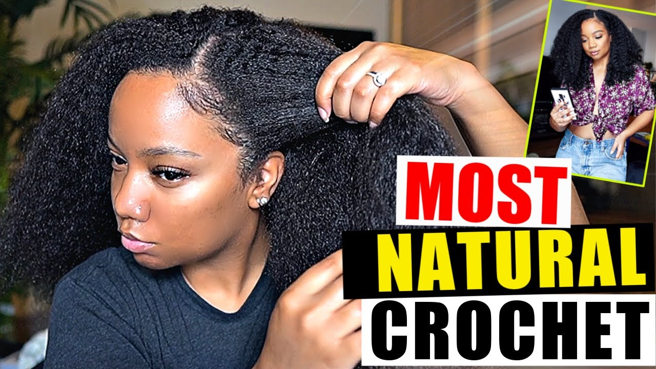 20 Most Natural Crochet Ever Protective Style Type 4 Natural Hair Youtube