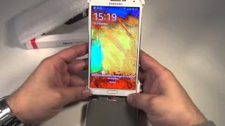 Чехол книжка для Samsung Galaxy Note 3 Белый
