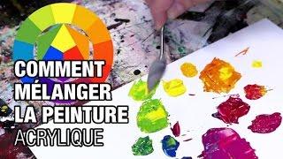 🎨 Comment faire des mélanges en peinture acrylique (2020)