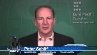 Peter Schiff and Harry Dent Debate on Economy