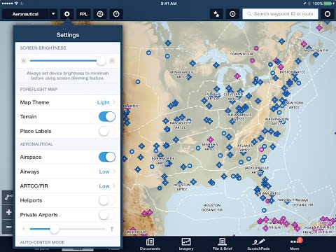 ForeFlight - Customize the Aeronautical Map