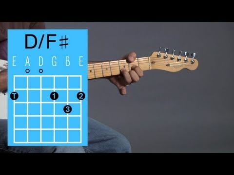Play D with F♯ in the Bass Open Chord | Guitar Lessons - YouTube