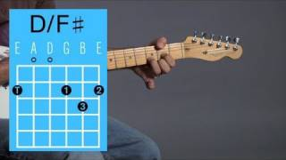 Play D with F♯ in the Bass Open Chord | Guitar Lessons