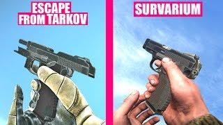 Escape from Tarkov Gun Sounds vs Survarium