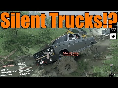 Spin Tires | Hard Work | Silent Trucks...