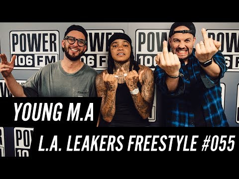 Young MA Freestyle w The LA Leakers - Freestyle 055