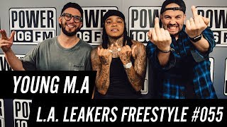 Young M.A Freestyle w/ The L.A. Leakers - Freestyle #055