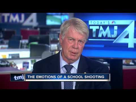 Local police chaplain on the emotions of a school shooting