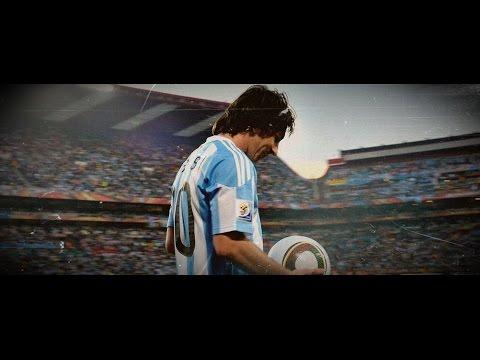 Lionel Messi ●Me vieron cruzar●Calle 13