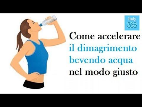 Come Accelerare Il Dimagrimento Bevendo Acqua Nel Modo Giusto - Italy 365