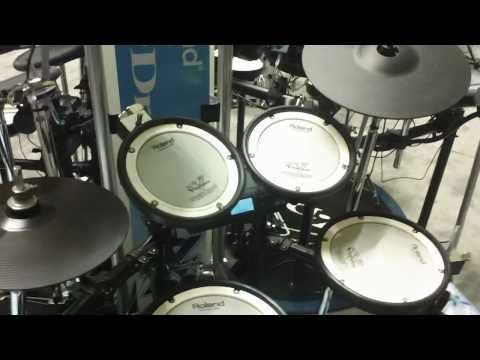 NAMM 2011: Roland announces the V Series TD4 KX2 drumset. Available at Musician's Friend