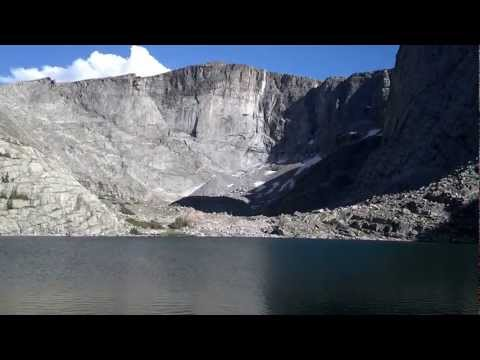Lower Lost Twin Lake in Bighorn Mountains