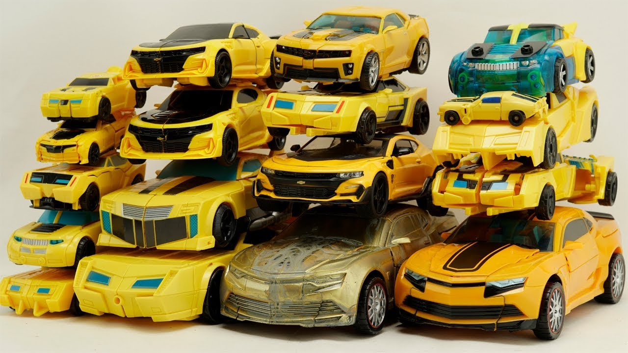 Bumblebee Transformers Yellow Car Color Trucks Robot Cars