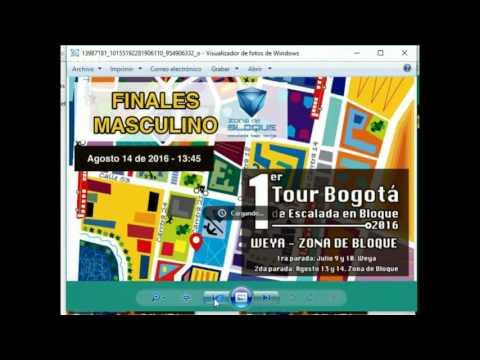 Finales Femenino - 1ER TOUR BOGOTA DE ESCALADA EN BLOQUE - 2da Parada Zona de BLoque