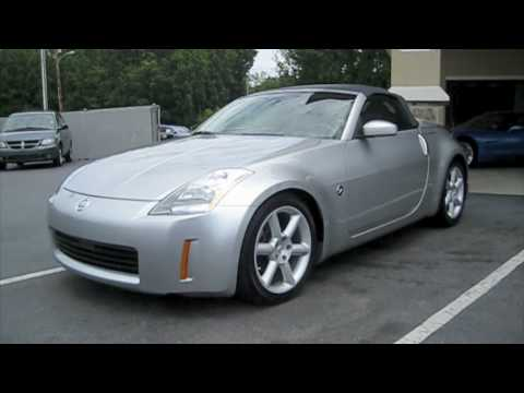 2005 Nissan 350Z Roadster Start Up, Exhaust, And In Depth Tour   YouTube