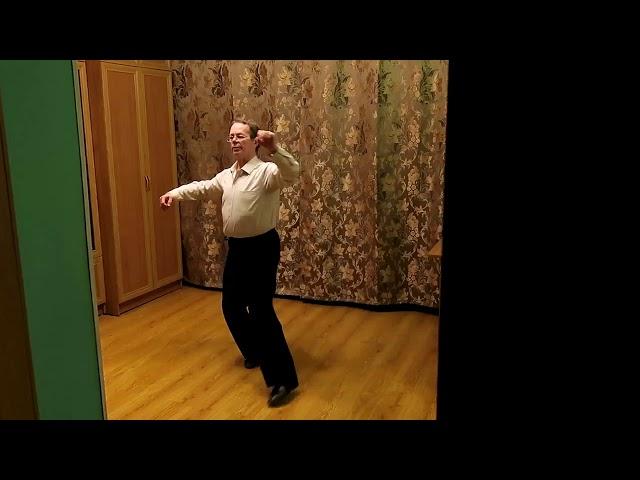 Русаков  Ретро вальс  Урок №14 Старт в стандарте