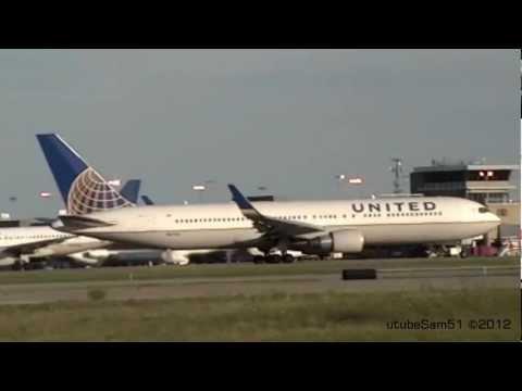 """Heavy"" Plane Spotting - Cleveland Hopkins Airport"
