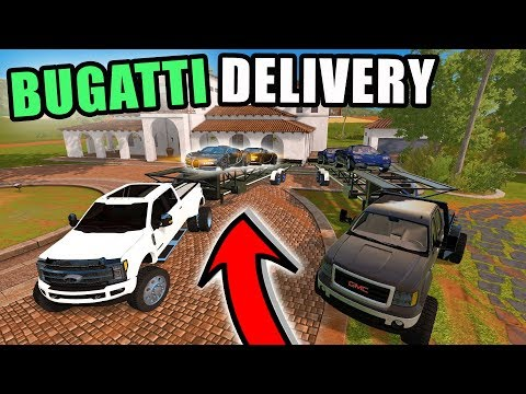 THE BUGATTI & MCLAREN HAVE ARRIVED | NEW CAR SHOP! | FARMING SIMULATOR 2017