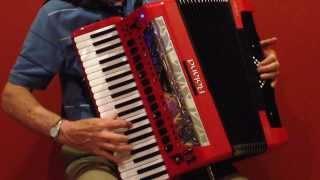 Malaguena, Roland FR-8x V-Accordion, Richard Noel