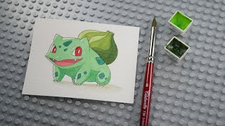 포켓몬스터 이상해씨 그리기 - Bulbasaur (フシギダネ)