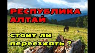 ПЕРЕЕЗД В ГОРНЫЙ АЛТАЙ//ПЛЮСЫ И МИНУСЫ РЕГИОНА