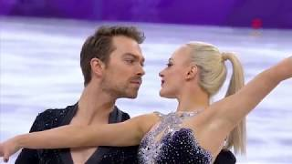 Penny COOMES & Nicholas BUCKLAND GBR Short Dance Pyeongchang 2018 CBC