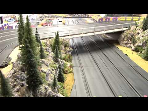 slot racing club  namur (SRCN)  présentation de notre circuit en vidéo