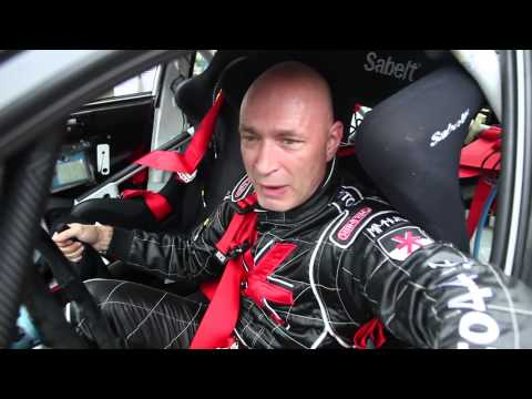 Daniel Landa alias Žito na WRC Deutschland