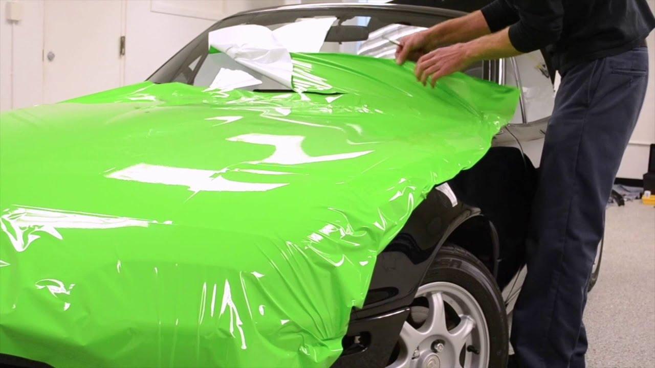Vinyl Wrap Your Car Hulk The Miata Chicago Auto Pros Youtube