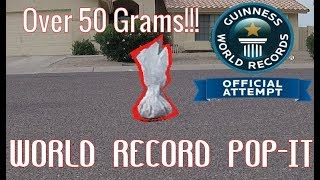 World's Largest Pop It [World Record]