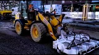 Praxisvideo - Plattenverdichter SBV 80 HC 3 - Kaiserplatz in Düren