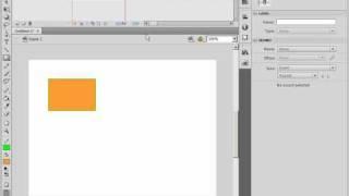 Работа с анимацией заливки в Adobe Flash CS4 (39/46)